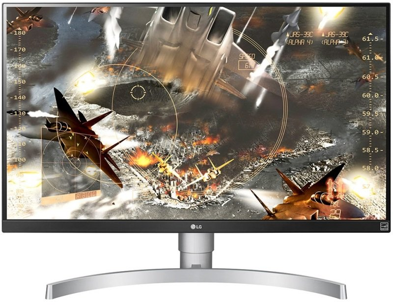 "LG 27UL650 27"" Class 4K UHD IPS LED Monitor with VESA DisplayHDR 400"