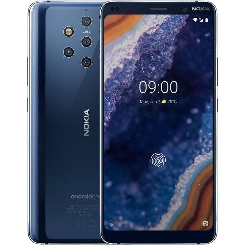 Nokia 9 PureView 128GB Smartphone - Midnight Blue