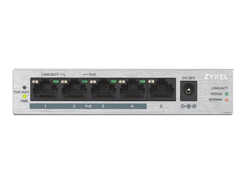 Zyxel GS1005HP 5 Ports Unmanaged Switch