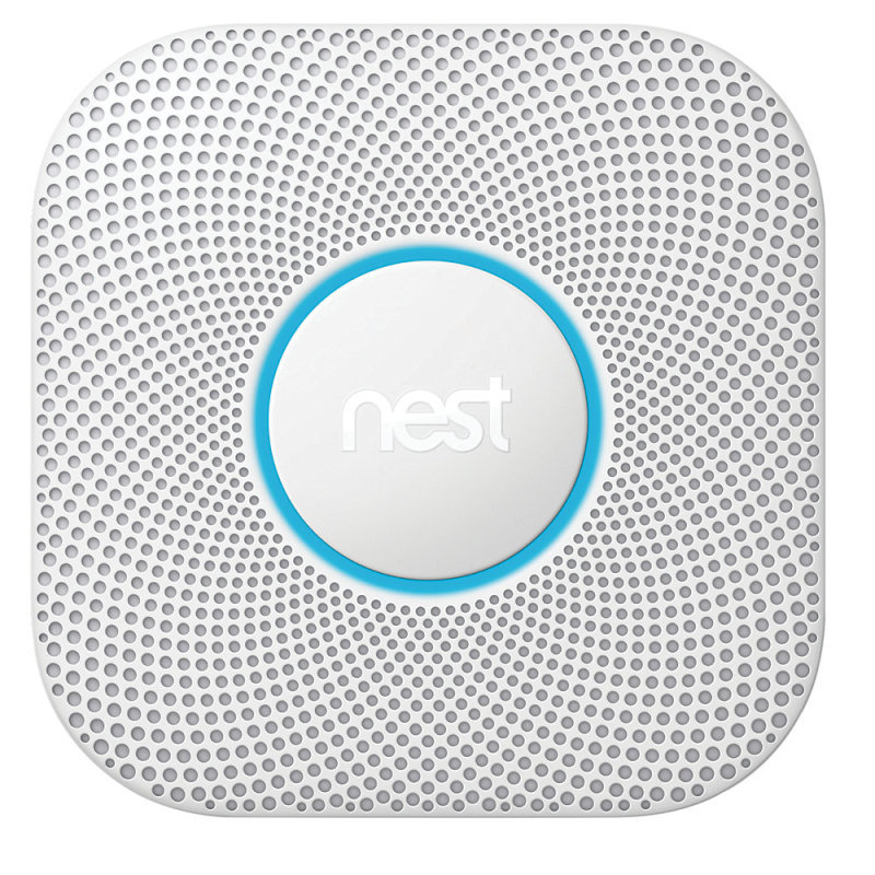 Google Nest Protect Smart Smoke and CO Alarm - Wired
