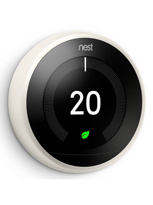 Image of Google Nest 3rd Gen Learning Thermostat - White