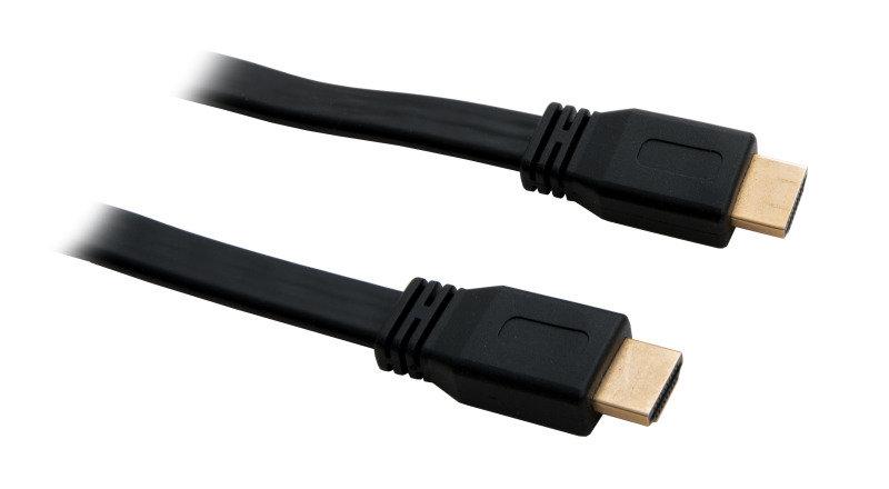 Xenta Flat  HDMI 2M 4K Cable Black