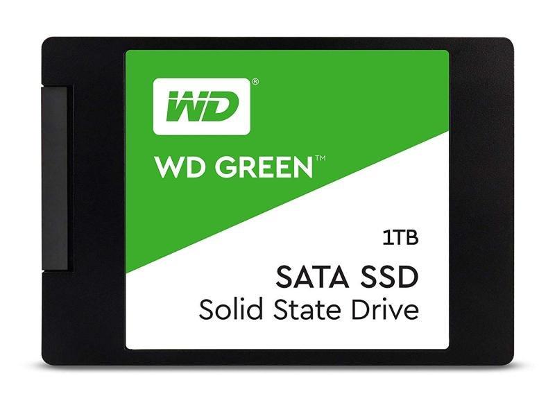 """WD Green 1TB Internal PC SSD - SATA III 6 Gb/s, 2.5""""/7mm - WDS100T2G0A"""