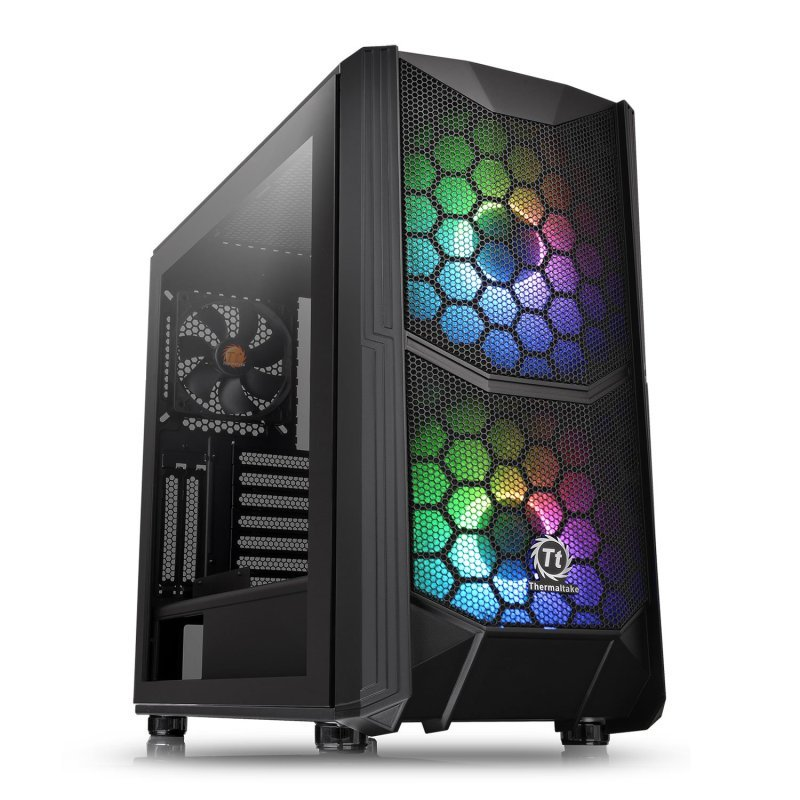 Thermaltake Commander C35 TG ARGB Black Edition Case