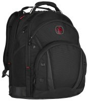 "Wenger 16"" Synergy Laptop Backpack Black Ballistix"