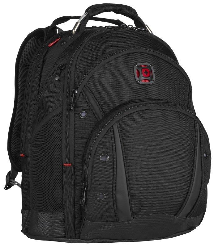 "Wenger 16"" Synergy Laptop Backpack Black Ballistix"