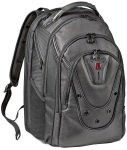 Wenger Ibex 17backpack Black Leather