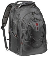 Wenger Ibex 17 Backpack Black Ballstic