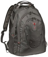 "Wenger 16"" Ibex Laptop Backpack Black"
