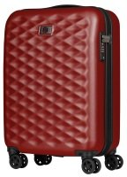 "Wenger Lumen 20"" Hardside Luggage Global Carry-On Red"