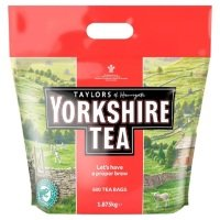 Yorkshire Tea Cup Tea Bags - 600 Pack