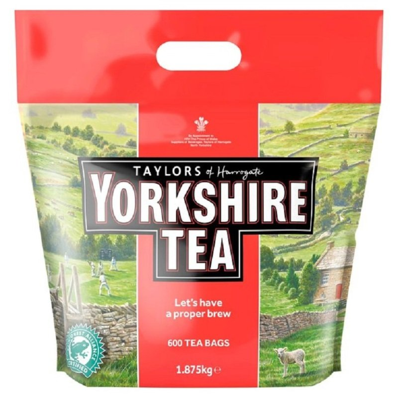 Yorkshire Tea Cup Tea Bags - 600 Pack