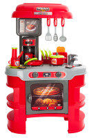 Little Chef Childrens Kitchen Role Play Set with Light Up & Sound