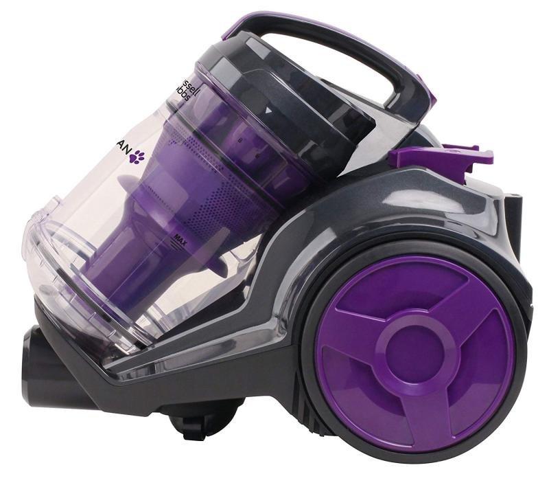 Russell Hobbs RHCV4501 Titan Multi Cyclone Pets Cylinder Vacuum, Plastic, 800 W, 3 liters, Grey/Purple