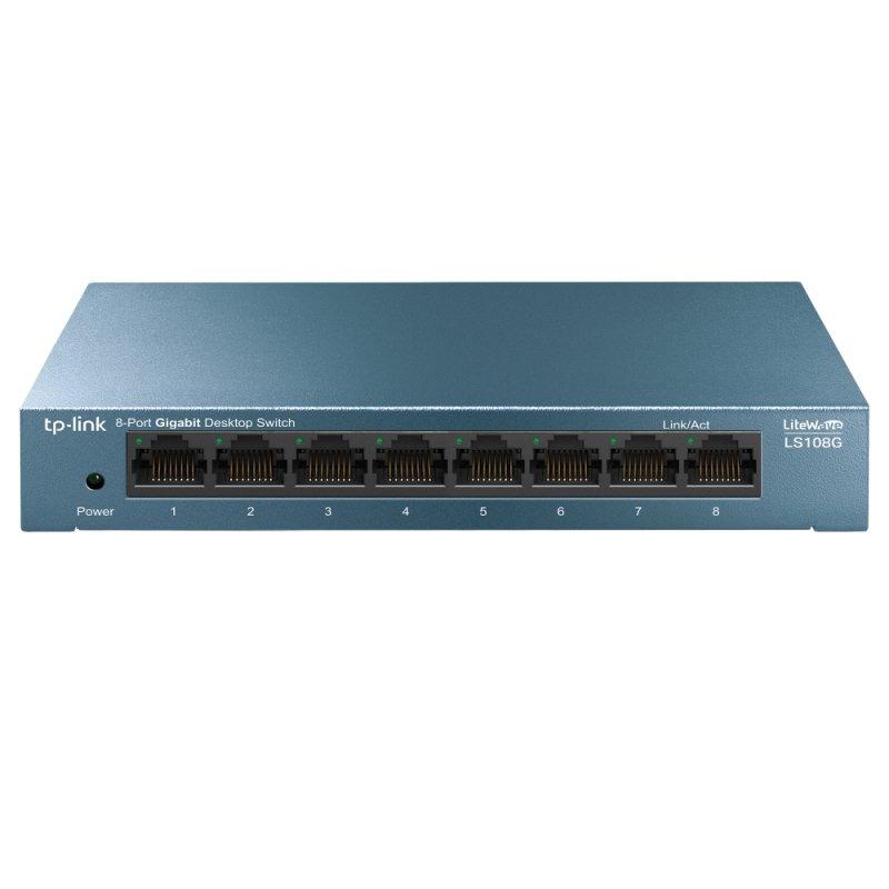 TP-Link LS108G 8-Port 10/100/1000Mbps Desktop Switch
