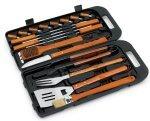 Landmann 13395 Sl and Bamboo Handle Tool Set