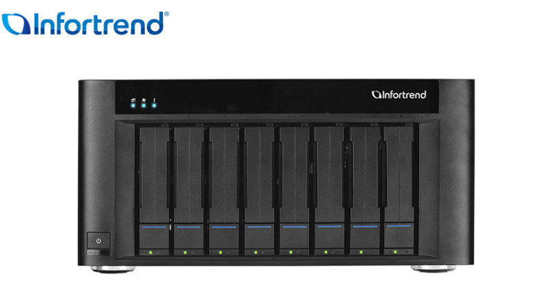 Infortrend EonStor GSe Pro 108 32TB (8 x 4TB SGT EXOS) 8 Bay NAS