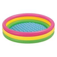 Intex 3-Hoop Inflatable Paddling Pool 86 x 25cm