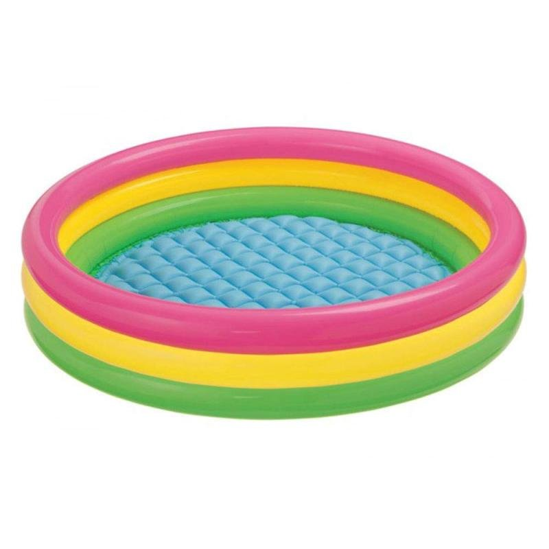 Intex 3-Hoop Inflatable Paddling Pool 86 x 25cm