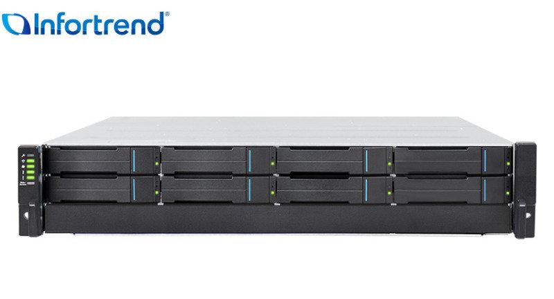 Infortrend EonStor GSe Pro 1008 8 Bay NAS Rack Enclosure