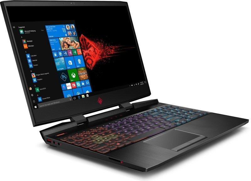 """OMEN by HP 15-dc0003na Gaming Laptop, Intel Core i7-8750H 2.2GHz, 8GB DDR4, 1TB HDD, 128GB SSD, 15.6"""" Full HD, No-DVD, NVIDIA GTX 1050Ti 4GB, WIFI, Windows 10 Home"""