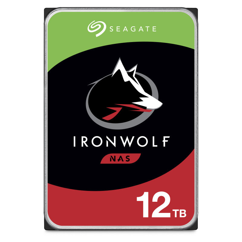 "Seagate IronWolf 12TB NAS Hard Drive 3.5"" 7200RPM 256MB Cache"