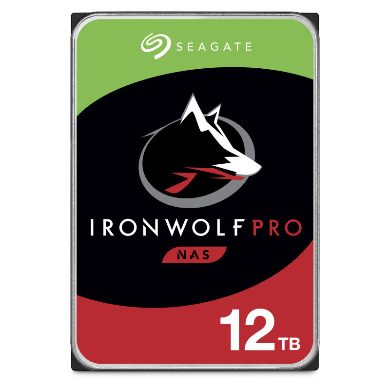 "Image of Seagate IronWolf Pro 12TB NAS Hard Drive 3.5"" 7200RPM 256MB Cache"