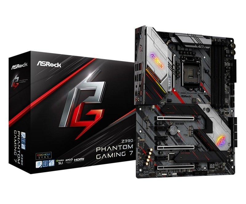 ASRock Z390 Phantom Gaming 7 LGA 1151 DDR4 ATX Motherboard