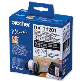 Brother Standard Die Cut Label