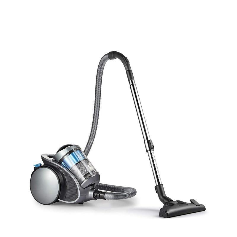 Swan SC15816N Multiforce Pet Bagless Silver Cylinder Vacuum