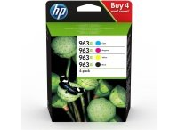 HP 963XL 4-pack High Yield Black/Cyan/Magenta/Yellow Original Ink Cartridges - 3YP35AE
