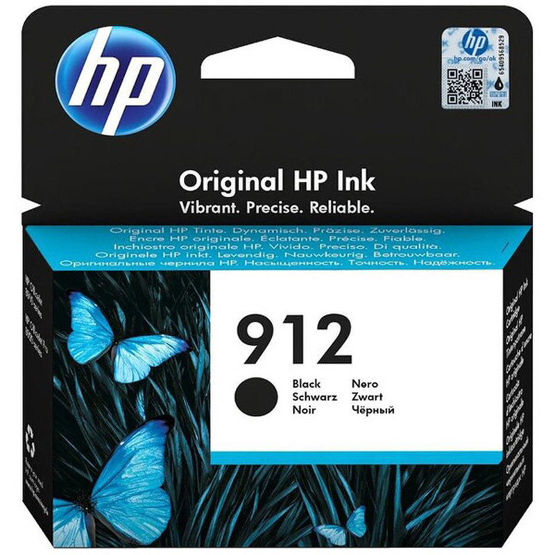 HP 912 Ink Cartridge Black - 3YL80AE