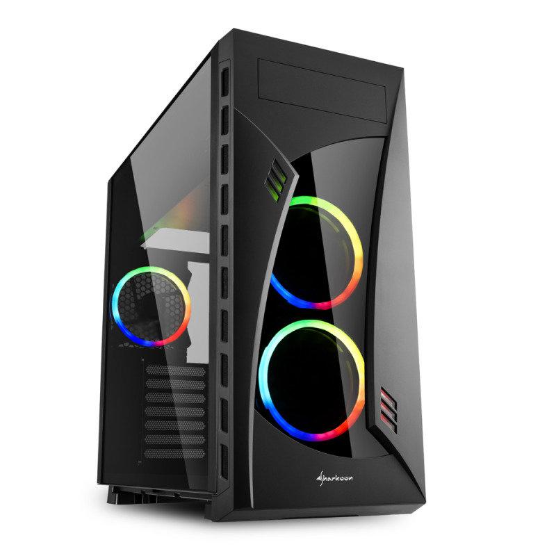 Sharkoon Night Shark RGB Computer Case