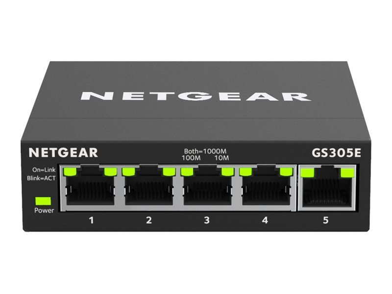NETGEAR GS305E 5 Ports Smart Switch