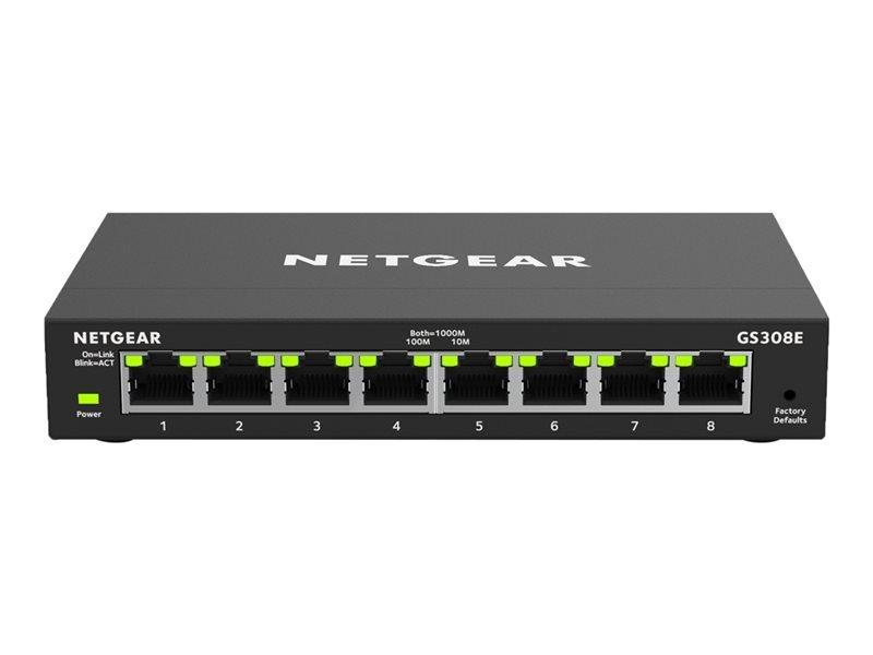 Netgear GS308E - Switch - 8 Ports - Smart