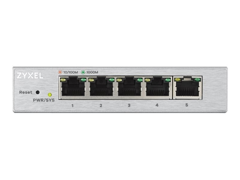 Zyxel GS1200-5 5 Ports Managed Switch