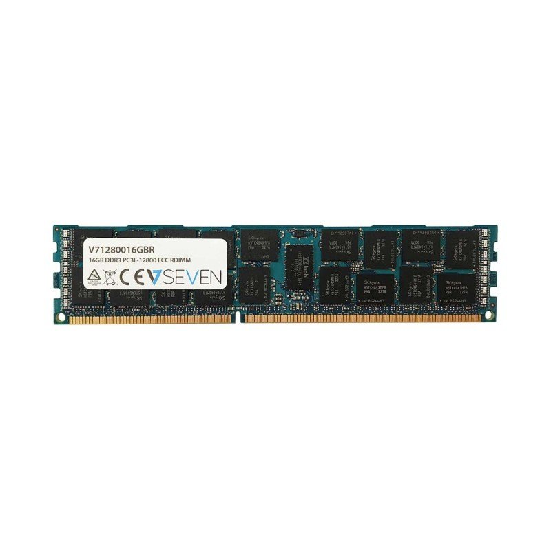 V7 16GB DDR3 PC3-12800 - 1600mhz 1.35V SERVER ECC REG Server Memory Module
