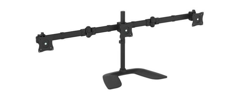 Triple-Monitor Desktop Stand - Articulating