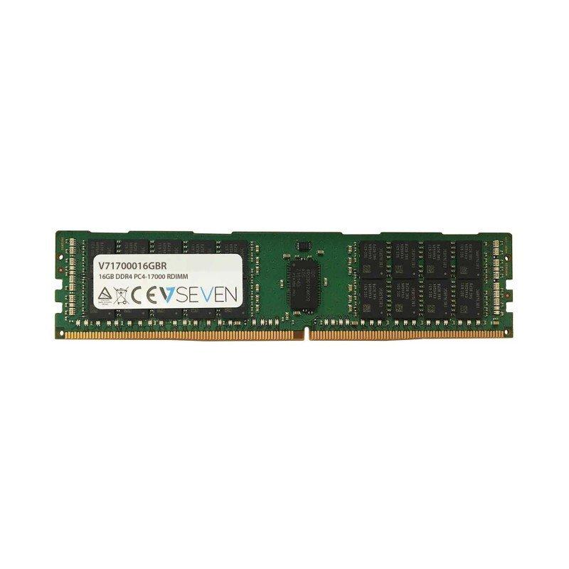 V7 16GB DDR4 PC4-170000 - 2133Mhz 1.2V Server Reg Server Memory Module