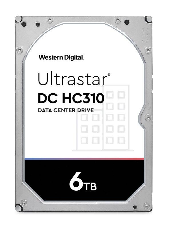 Western Digital 6TB Ultrastar DC HC310 SATA Enterprise HDD 7200 RPM