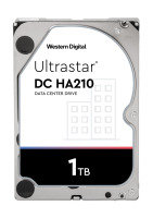 Western Digital 1TB Ultrastar DC HA210 SATA Enterprise HDD 7200 RPM