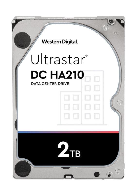 Western Digital 2TB Ultrastar DC HA210 SATA Enterprise HDD 7200 RPM