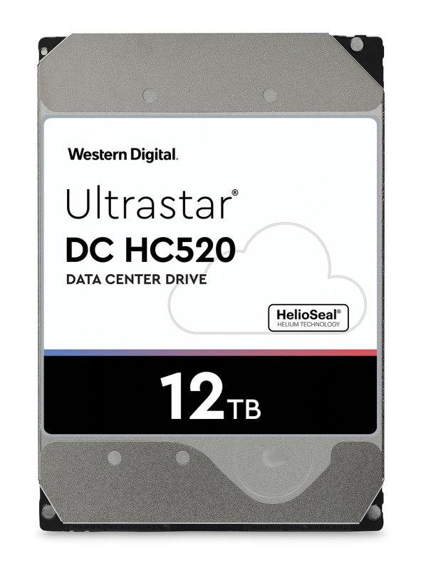 Western Digital 12TB Ultrastar DC HC520 SATA Enterprise HDD 7200 RPM
