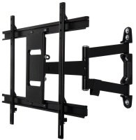 Ventry ultra-slim double arm wall mount with tilt and swivel for screens