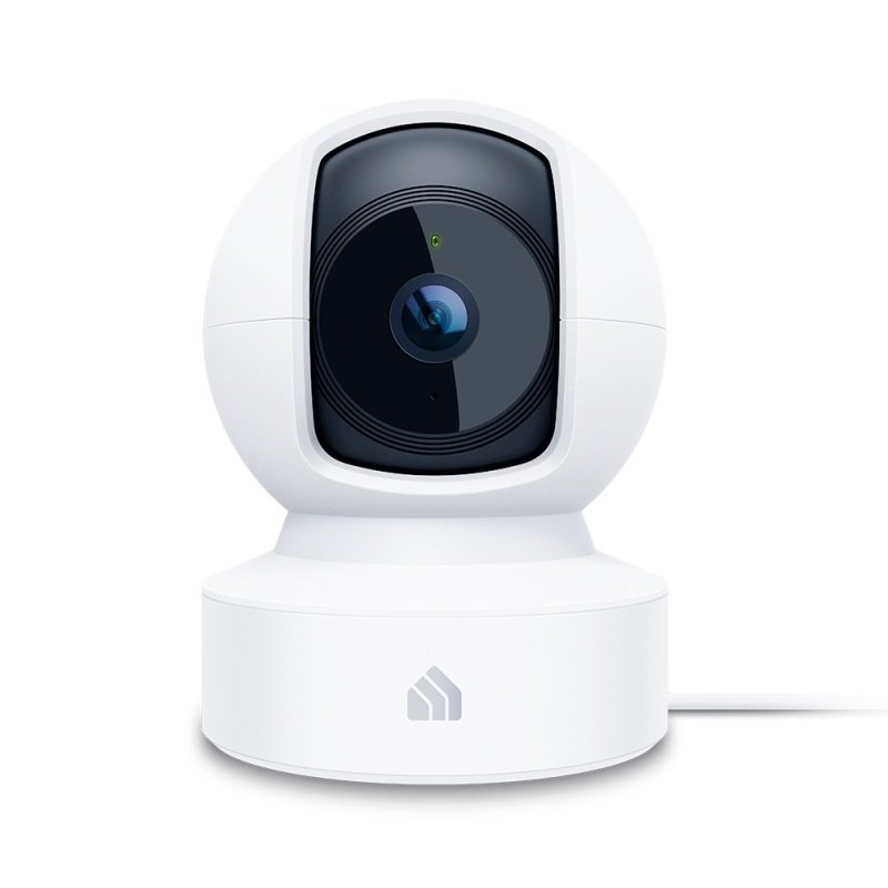 TP Link Kasa KC110 Spot Pan Tilt 1080P Indoor Security Wifi Camera with Night Vision - Works with Alexa & Google Home