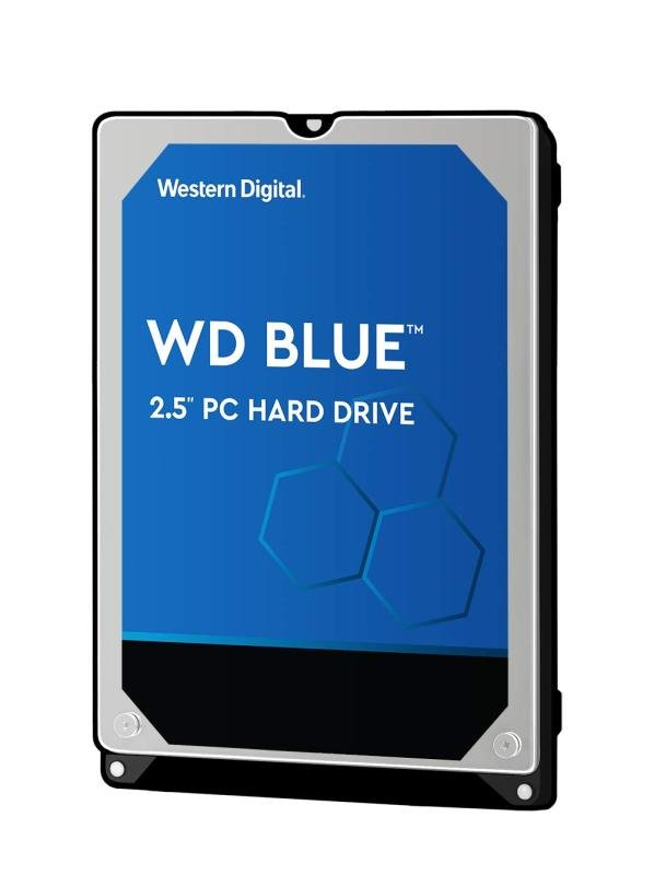 "WD Blue Hard Drive 500GB Internal 2.5"" SATA 6Gb/s"