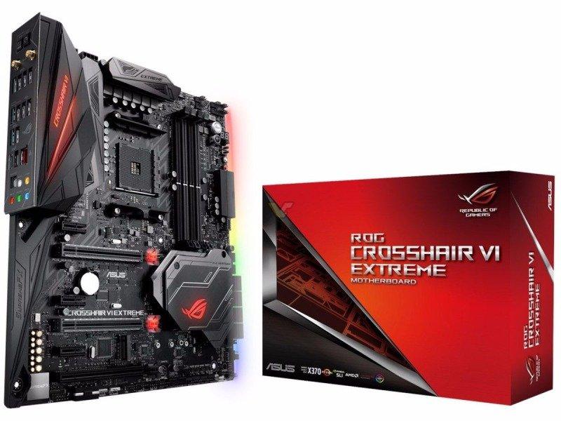EXDISPLAY Asus ROG CROSSHAIR VI EXTREME X370 AM4 socket DDR4 EATX Motherboard