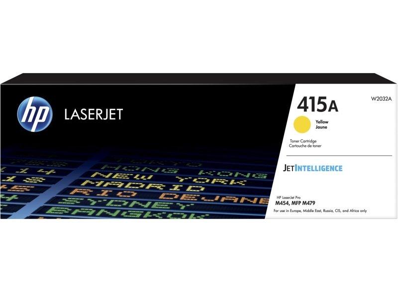 HP 415A Yellow Original LaserJet Toner Cartridge (W2032A)