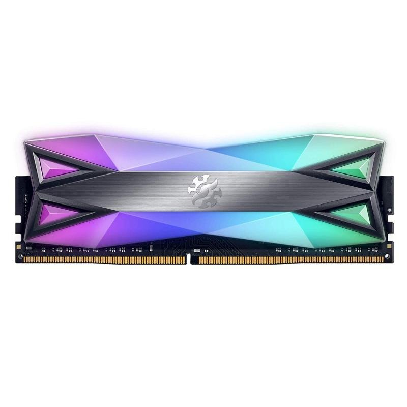 XPG DDR4 D60G RGB 16GB (2x8GB) 3200MHz PC4-25600 U-DIMM Desktop Memory