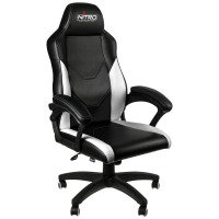 Nitro C100 GAMING CHAIR - BLACK/WHITE